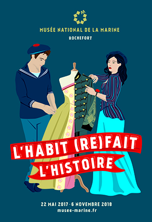 Poster of the exposure to Rochefort the habit redoes the history