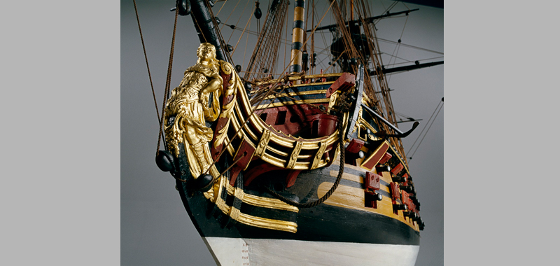 Louis XV, 110 gunships, 1720-1725, figurehead
