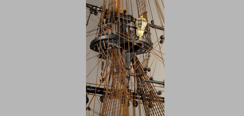 Louis XV, 110 gun ship, 1720-1725, view details