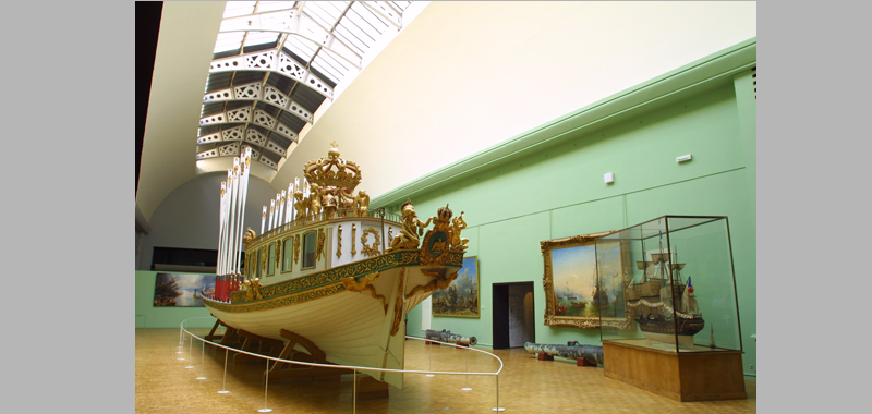 Emperor's Canoe, 1810, rear view
