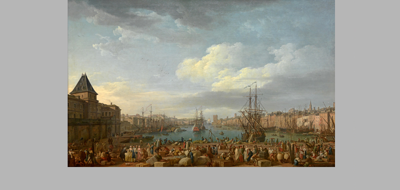 Int rieur du port de marseille joseph vernet mus e for Interieur 18eme siecle