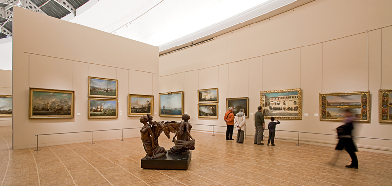 Interieur du musee, collection permanente