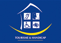 Tourism and disability label for auditory, mental and visual impairments